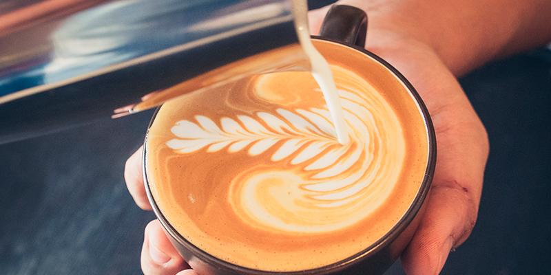 Kaffeegenuss am Morgen