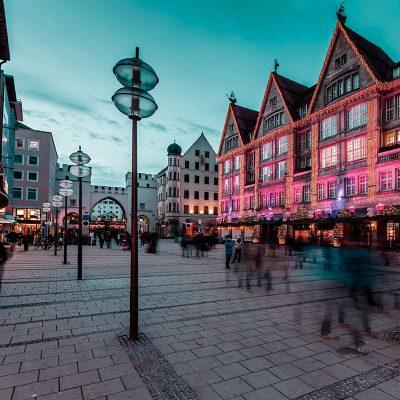 Karlsplatz Stachus - Kaufinger Strasse